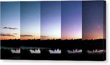 Starry Night Canvas Print by Laurent Laveder