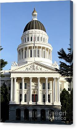 State Of California Capitol Building . 7d11736 Canvas Print by Wingsdomain Art and Photography