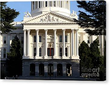State Of California Capitol Building . 7d11737 Canvas Print by Wingsdomain Art and Photography