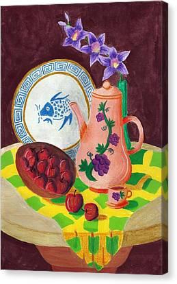 Still Life 1.0 Canvas Print by Adam Wai Hou