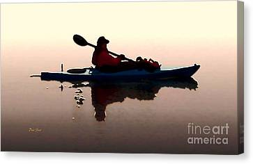 Still Waters Canvas Print by Dale   Ford