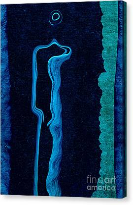 Stone Men 01c2 - Her Canvas Print by Variance Collections