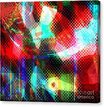 Stories From Here Canvas Print by Fania Simon