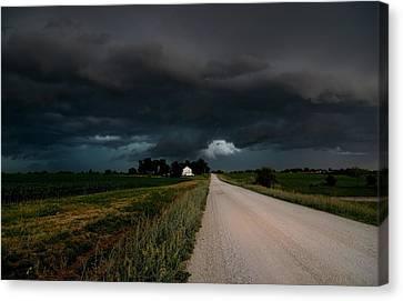 Storm Ahead Canvas Print by Rick Rauzi