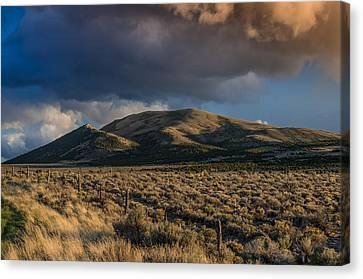 Storm Clearing Over Great Basin Canvas Print by Greg Nyquist