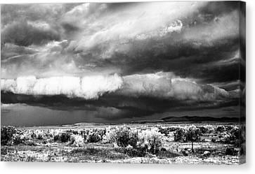 Storm Clouds Canvas Print by Greg Jones