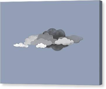 Storm Clouds Canvas Print by Jutta Kuss