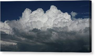 Storm Front Canvas Print by David Paul Murray