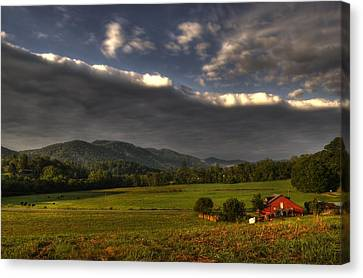 Storm Canvas Print by Greg and Chrystal Mimbs