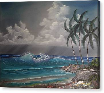 Storm On The Horizon Canvas Print by John Koehler