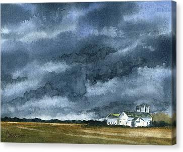 Storms Of Life Canvas Print by Marsha Elliott