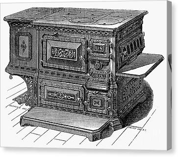 Stove, 1876 Canvas Print by Granger