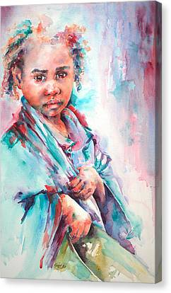 Street Life Canvas Print by Stephie Butler