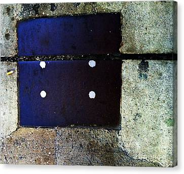 Streets Of New York Abstract Four Canvas Print by Marlene Burns