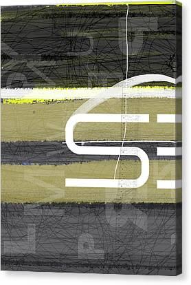 Stripes Canvas Print by Naxart Studio