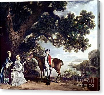 Stubbs Pocklington 1769 Canvas Print by Granger