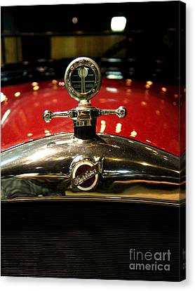 Studebaker Hood Ornament Canvas Print by Wingsdomain Art and Photography