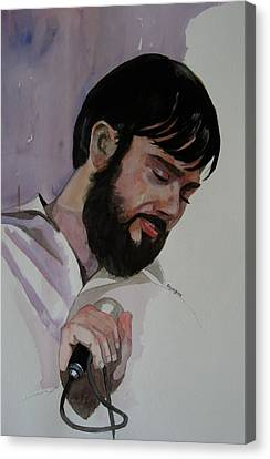 Study For Il-brikuni Mario Canvas Print by Ray Agius