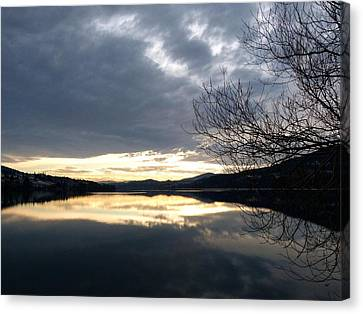 Stunning Tranquility Canvas Print by Will Borden