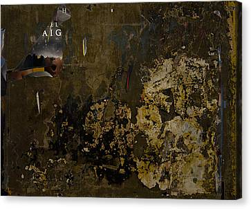 Subtext   Aig Canvas Print by Kenneth rst Vick