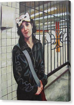 Subway Sosha Canvas Print by Dan Fusco