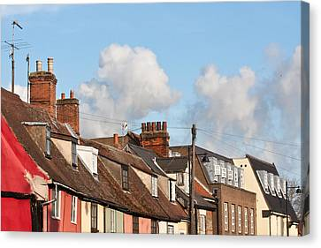 Suffolk Rooftops Canvas Print by Tom Gowanlock