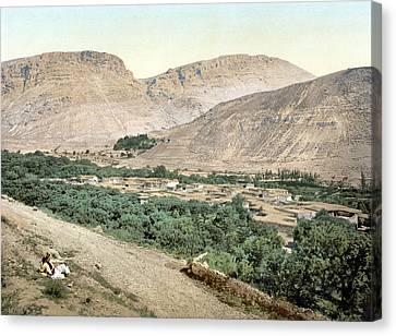 Suk-wady-barada, Holy Land, Jordan Canvas Print by Everett