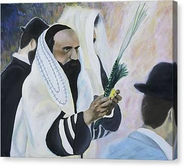 Sukkot Canvas Print by Iris Gill