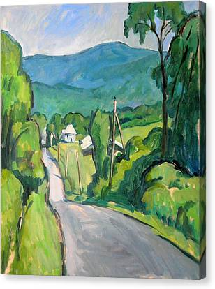 Summer In The Berkshires Canvas Print by Thor Wickstrom