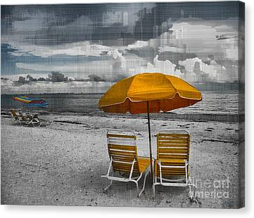 Summer's End Canvas Print by Jeff Breiman
