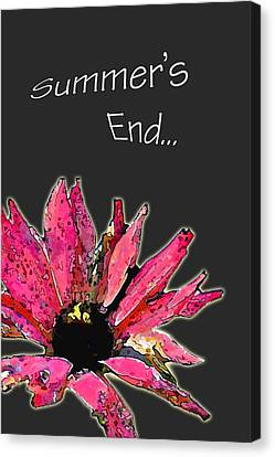 Summer's End Canvas Print by Larry Bishop