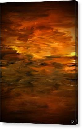 Summer's Hymns Canvas Print by Lourry Legarde