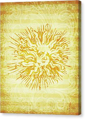 sun Canvas Print by Adrienne Stiles