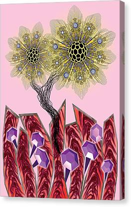 Sunflowers Canvas Print by Foltera Art