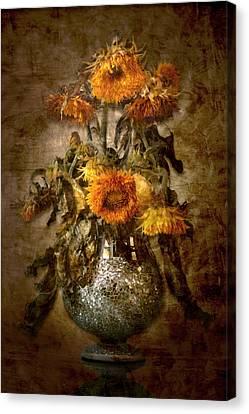 Sunflowers Canvas Print by Marc Huebner