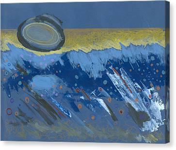 Sunken Moon Canvas Print by Ralf Schulze