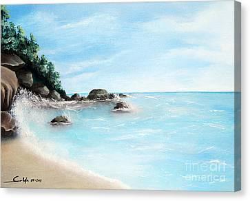 Sunny Day Canvas Print by Seth Corda