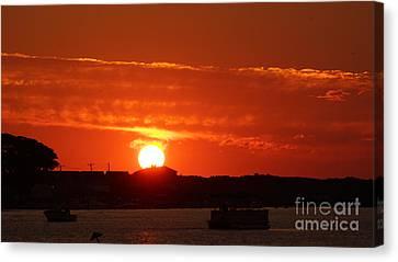 Sunrise 7547 Canvas Print by Chuck Smith