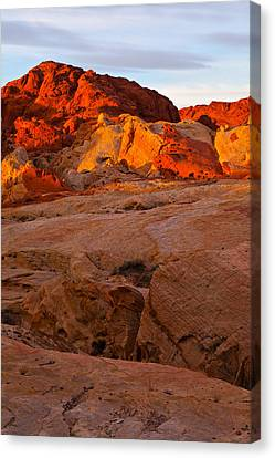 Sunrise Ignition Canvas Print by James Marvin Phelps