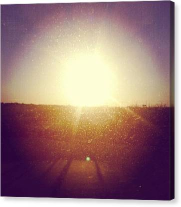 #sunrise #nature #sky #andrography Canvas Print by Kel Hill
