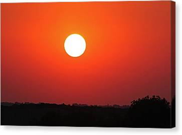 Sunset 2 Canvas Print by Becky Lodes