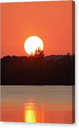 Sunset 3 Canvas Print by Becky Lodes