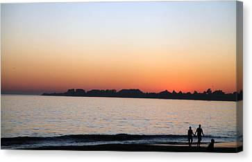 Sunset Canvas Print by Joe Fernandez