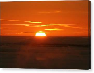 Sunset Canvas Print by Laurent Laveder