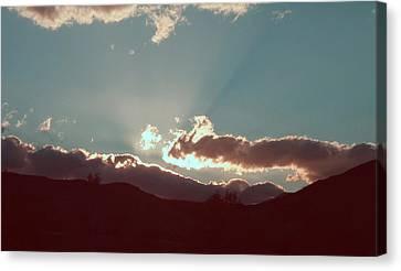 Sunset Canvas Print by Naxart Studio