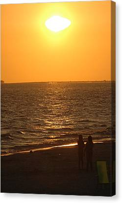 Sunset Canvas Print by Ronald T Williams