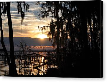 Sunset View Canvas Print by Tiffney Heaning