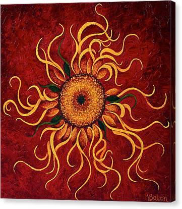 Superstar Canvas Print by Karen Balon
