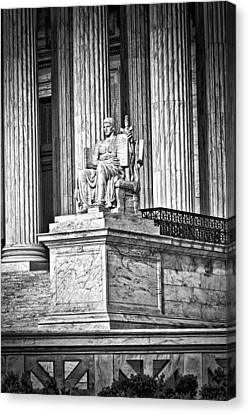 Supreme Court Building 1 Canvas Print by Val Black Russian Tourchin