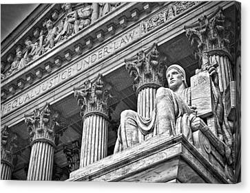 Supreme Court Building 20 Canvas Print by Val Black Russian Tourchin
